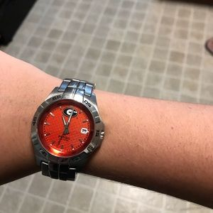 NCAA Georgia bulldogs Fossil men's watch
